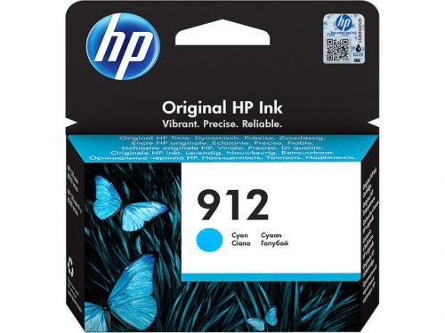 HP 3YL77AE 912 Cyan Ink 3ml