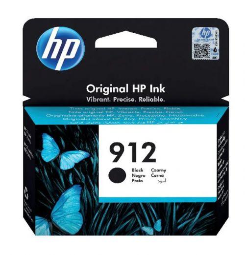 HP 3YL80AE 912 Black Ink 8ml