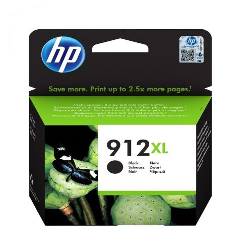 HP 3YL84AE 912XL Black Ink 22ml