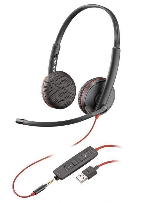 Plantronics PLX BLACKWIRE C3225 USB A
