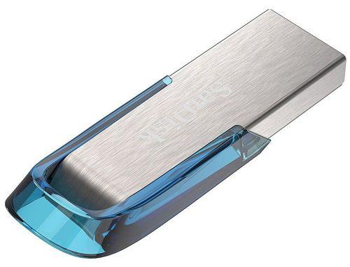 SanDisk Ultra Flair (64GB) USB 3.0 Flash Drive (Blue)