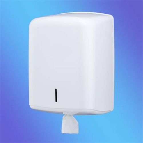 ValueX White Plastic Centrefeed Dispenser