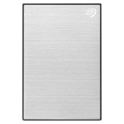 Seagate HDD External 5TB Plus Portable USB3 Silver