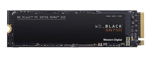 WD SSD 500GB M.2 NVMe Black SN750 Heatsink