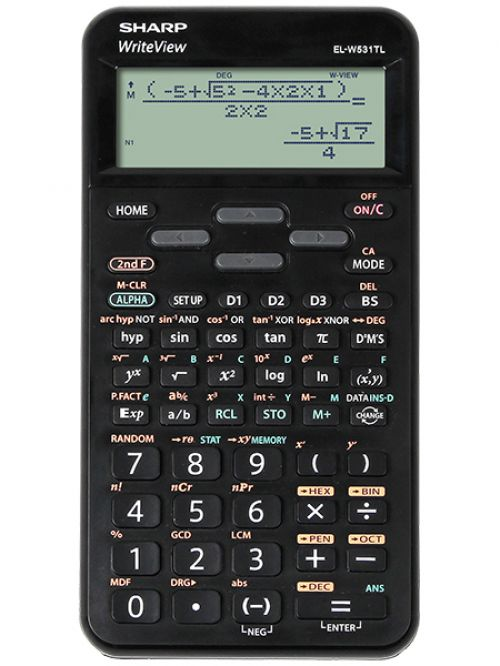 Sharp ELW531T  Scientific Calculator Black