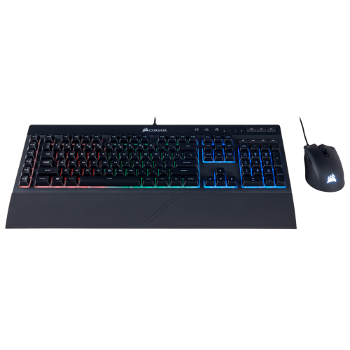 Corsair K55 Keyboard and Harpoon RGB Mouse