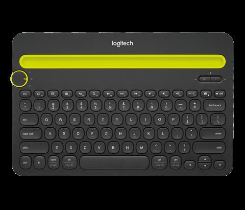 Logitech K480 Bluetooth QWERTZ Keyboard