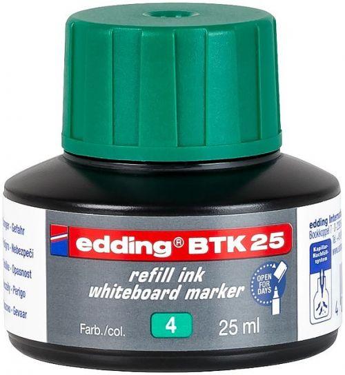 edding BTK 25 Refill Ink For Whiteboard Marker Green