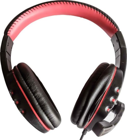 Dynamode DH 878 Black and Red Headset