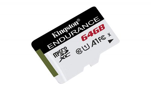 Kingston 64GB High Endurance CL10 UHSI MicroSDXC