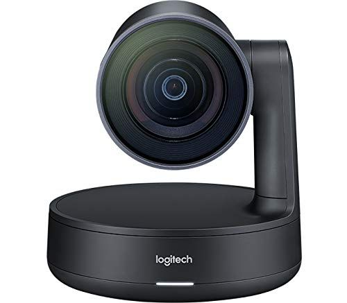 Logitech Rally 60fps 4K Ultra HD Resolution Group Video Conference Camera System Adaptive Pan Tilt and Zoom