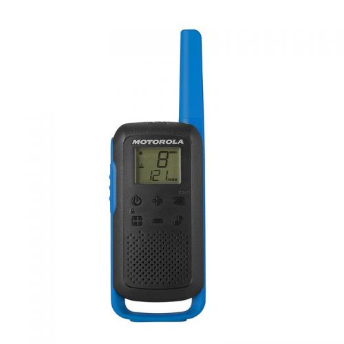 Motorola T62 Walkie Talkie Radios Blue Twin Pack