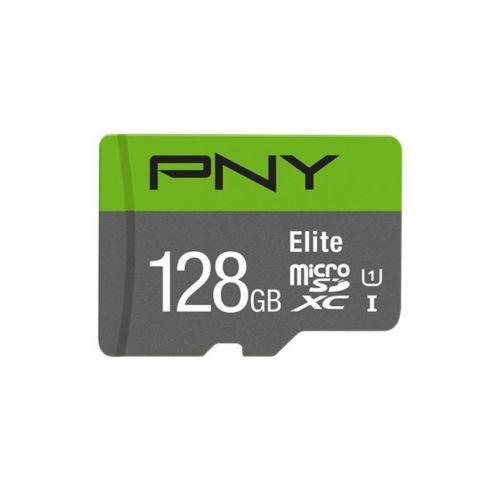 PNY 128GB Elite CL10 UHS1 MicroSDXC and AD