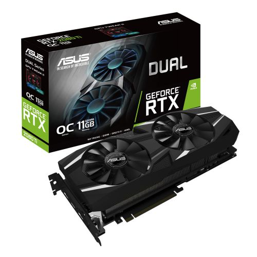 Asus RTX 2080Ti Dual OC 11GB DDR6 PCIE3