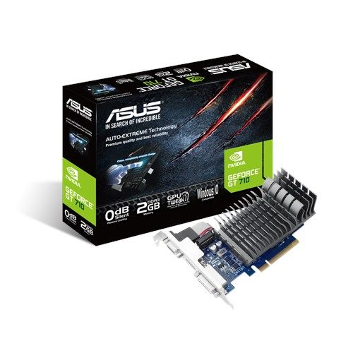 Asus Geforce GT 710 2GB DDR3 GRAPHICS CARD