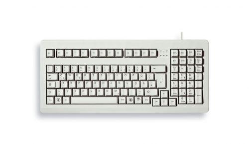 Cherry USB PS2 Compact Grey Keyboard