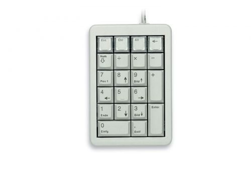 Cherry G844700 Numeric Light Grey Keypad