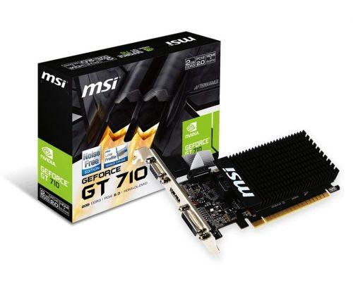 MSI GT 710 1GB Low Profile Graphics Card