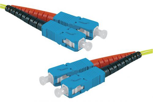 EXC 1m Fibre Duplex 9 125 OS2 LSZH SCSC
