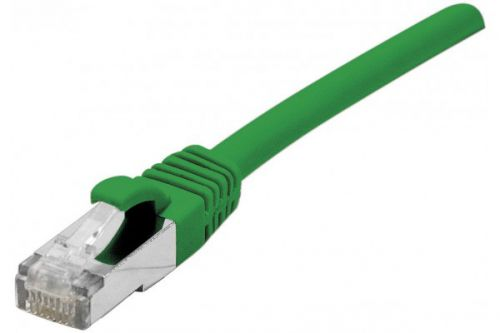 EXC 1.5m RJ45 cat.6a FUTP Snagless Green