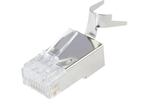 EXC RJ45 Plugs Cat6 STP Solid 10 Pack