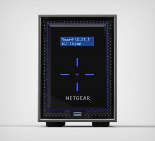 Netgear 8TB ReadyNAS 422 2GB RAM 2 Bay NAS