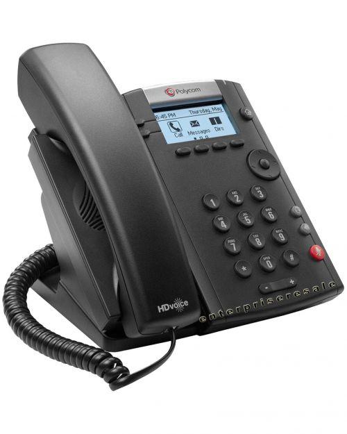 Polycom VVX 201 2 Line Desktop Phone