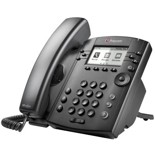 Polycom VVX 301 6 Line Desktop Skype Lync Phone