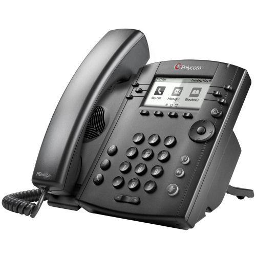 Polycom VVX 301 6 Line Desktop Phone