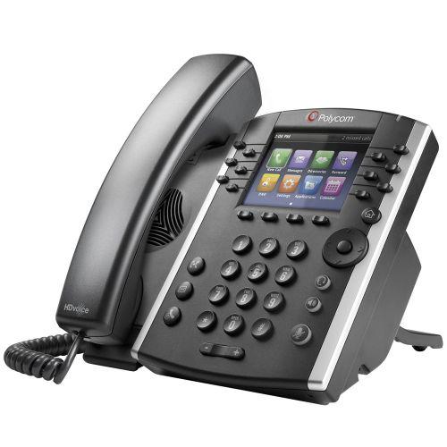 Polycom VVX 401 12 Line Desktop Skype Phone