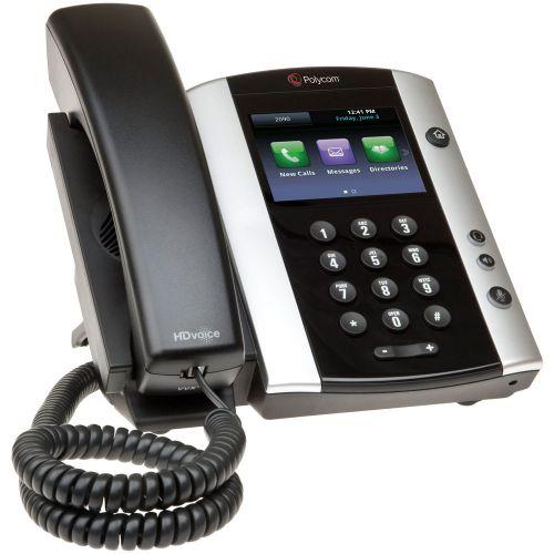 Polycom VVX 501 12 Line Desktop Skype Lync Phone