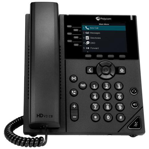 Polycom VVX 350 6 Line Desktop IP Phone