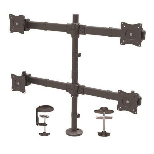 Startech Desk Mount Quad Monitor Arm Steel