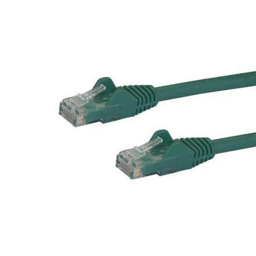 Startech 15m Green Snagless Cat6 UTP Patch Cable