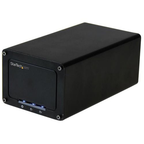DUAL EXT ENCLOSURE FOR 2.5IN SATA DRIVES