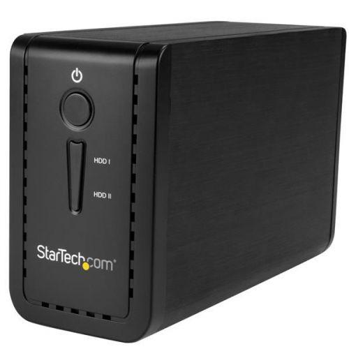 Startech USB 3.1 2 Bay 3.5in HDD Enclosure RAID