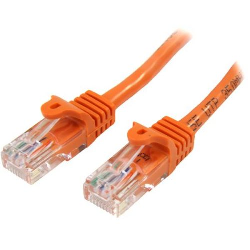 Startech 1m Orange Snagless Cat5e Patch Cable