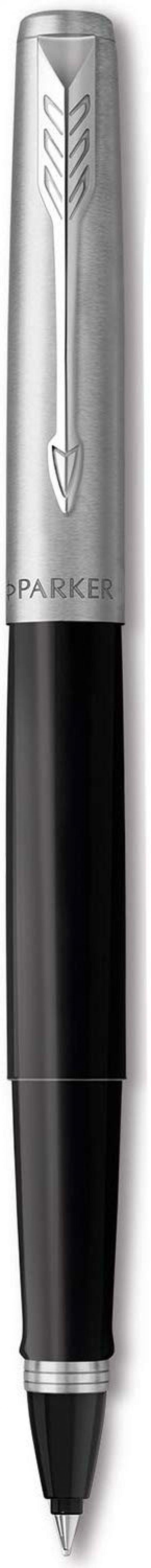 Parker Jotter Rollerball Pen Black/Stainless Steel Barrel Black Ink