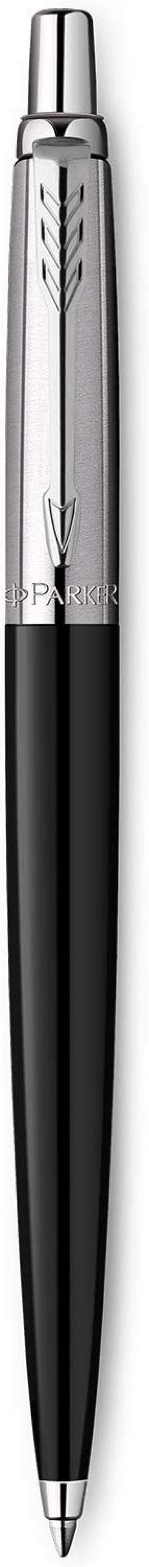 Parker Jotter Ballpoint Pen Black Barrel Blue Ink