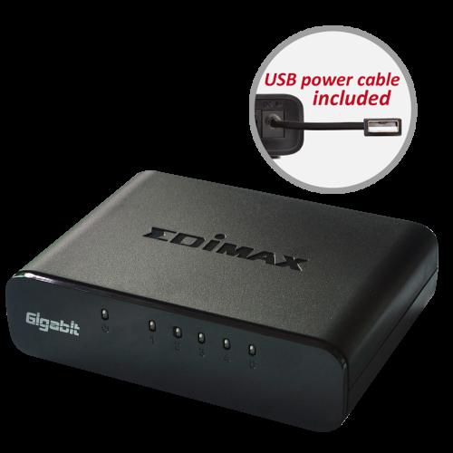 5 Port Gigabit Ethernet Desktop Switch