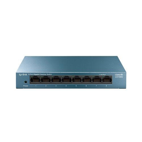 LiteWave 8 Port Gigabit Desktop Switch