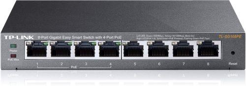 8 Port Gbit Easy Smart Switch with 4xPoE