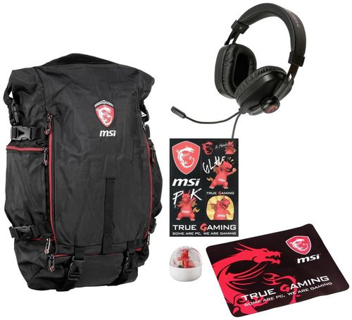 BackPack Headset MousePad Gaming Pack
