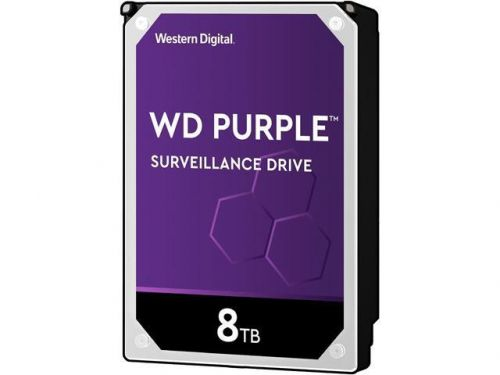 8TB WD Purple 3.5in SATA Int HDD