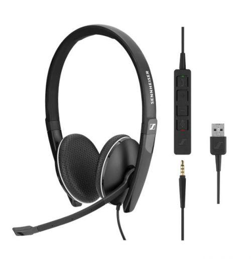 Sennheiser SC165 Wired Headset 3.5mm USB