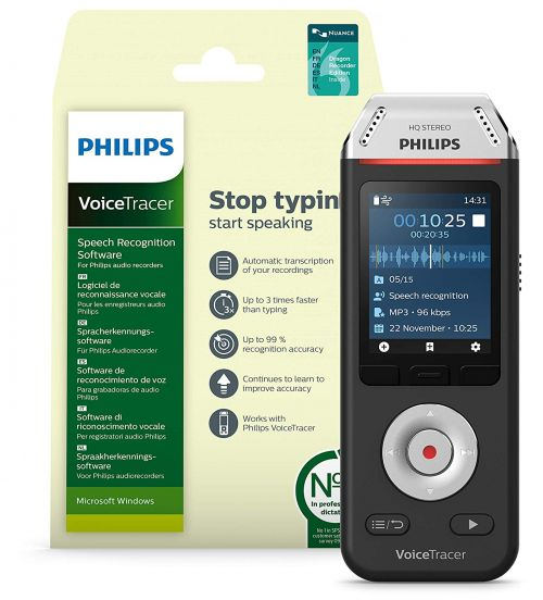 Philips Recorder and Speech Recognition Set DVT2810 PH00645