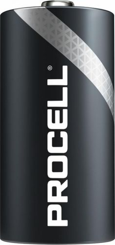 Duracell Procell Alkaline Battery 1.5V C MN1400/EN93/E93/4014/AM2/LR14 [Pack 10]