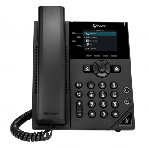 VVX 250 4 Line Desktop Business IP Phone