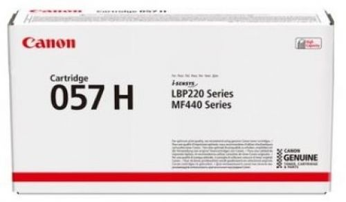 Canon i-SENSYS 057H Toner Cartridge High Yield Page Life 10,000pp Black Ref 3010C002