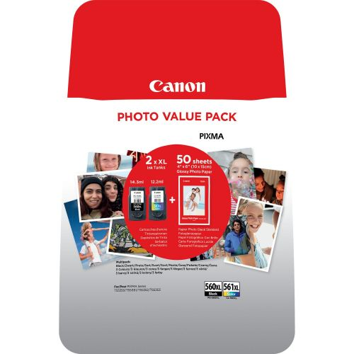 CANON 3712C004 PG560XL CL561XL PACK 2